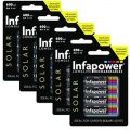 Infapower (B008) AA 600mAh Solar Light batteries - 5 x packs of 4