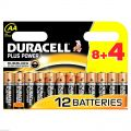 Duracell PLUS Power AA pack of 12  - MN1500 Alkaline Batteries