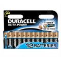 Duracell Ultra M3 MX1500 Alkaline Battery AA - Pack of 12
