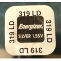 Energizer 319 ( SR527SW ) Silver Oxide Watch Battery