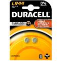 LR44 - Duracell pack of 2 A76 Alkaline Button Cell