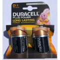 Duracell PLUS Power D MN1300/2 Alkaline Batteries