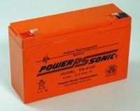 Power-Sonic PS6100 6v 10Ah rechargeable SLA Battery
