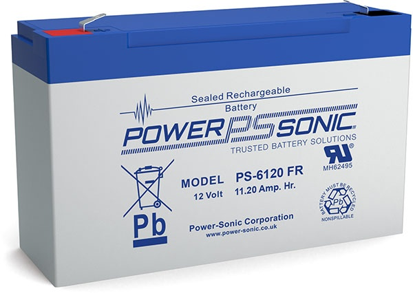 Power-Sonic PS6120 Batteries From Battco, The Battery Company