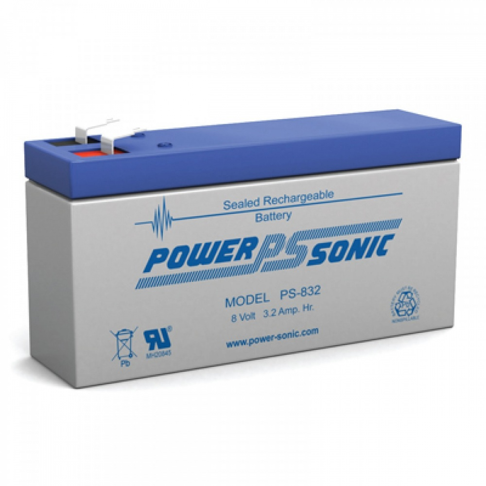 PS832 Power-Sonic Batteries From Battco The Battery Company