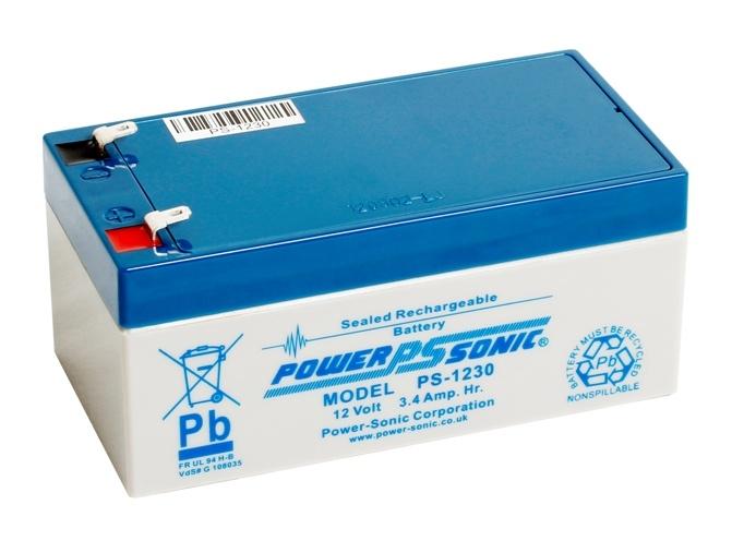 power sonic ps 1230 battery 12 v 3 4 ah. Black Bedroom Furniture Sets. Home Design Ideas